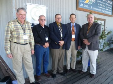 Photo: Members of the Tri-Lamb Group at the Sheep CRC Conference